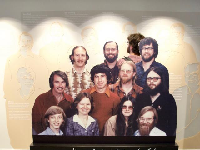 Pierwsza ekipa Micsrosoft'u / First Microsoft's team
