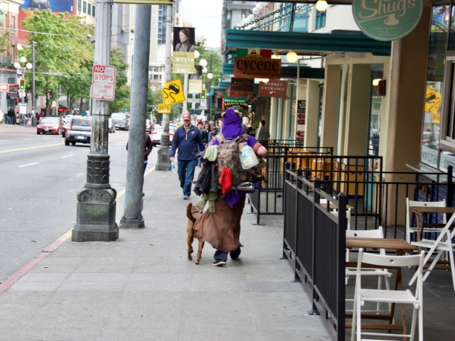 Ludzie Seattle / People of Seatle