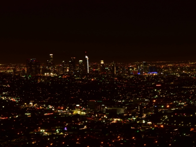 Los Angeles nocą