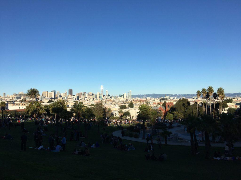 Widok na San Francisco