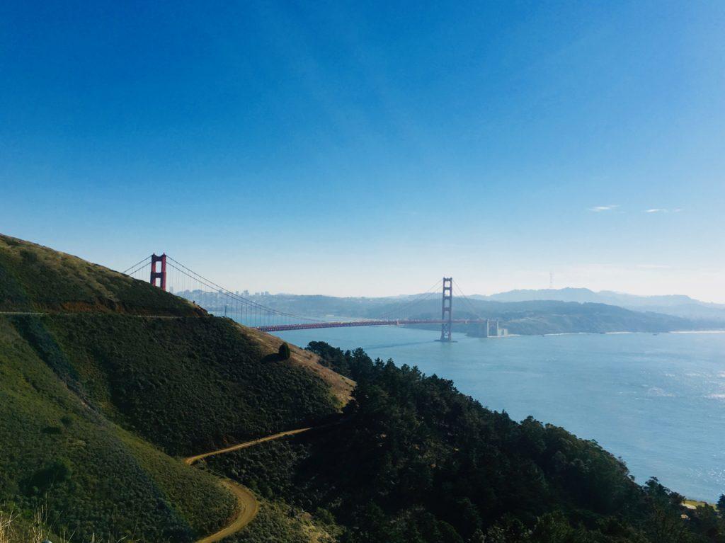 Widok na Golden Gate Bridge