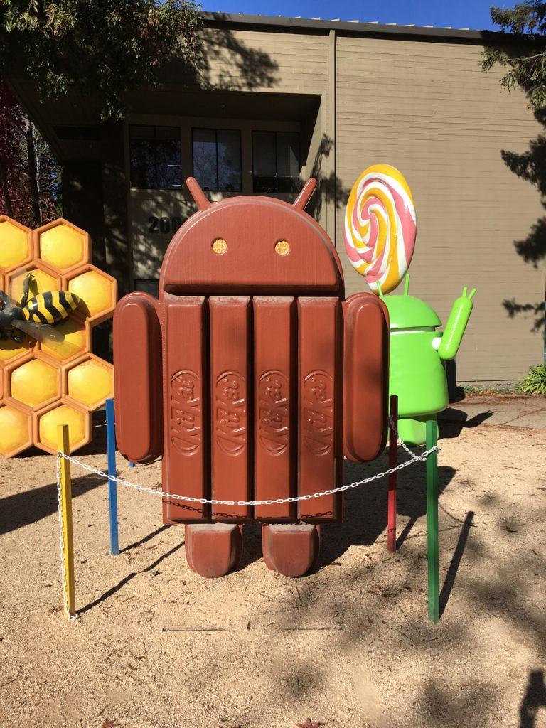 Android na kampusie Google