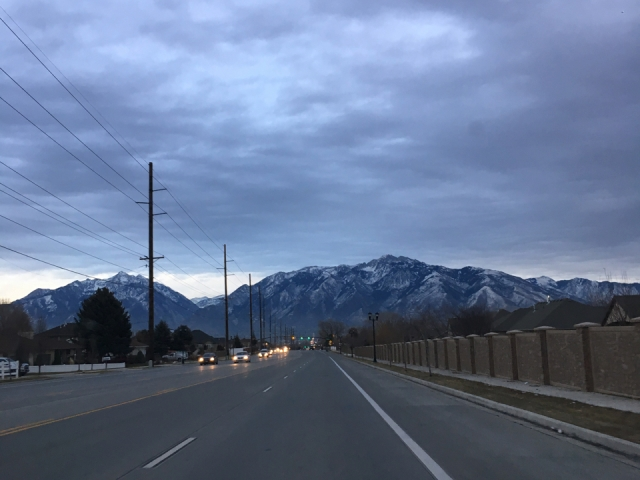 Zbliżamy się do Salt Lake City