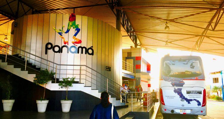Widok na granicę z Panamą