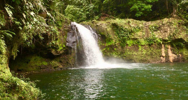 Wodospad Pozo Azul Kostaryka